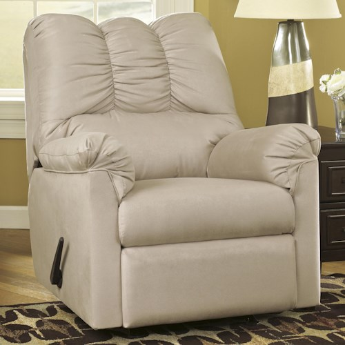 Signature Design by Ashley Darcy - Stone Rocker Recliner
