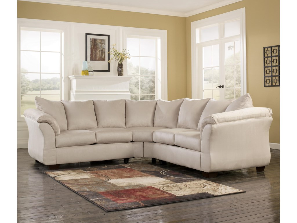 Signature Design By Ashley Darcy Stonesectional Sofa