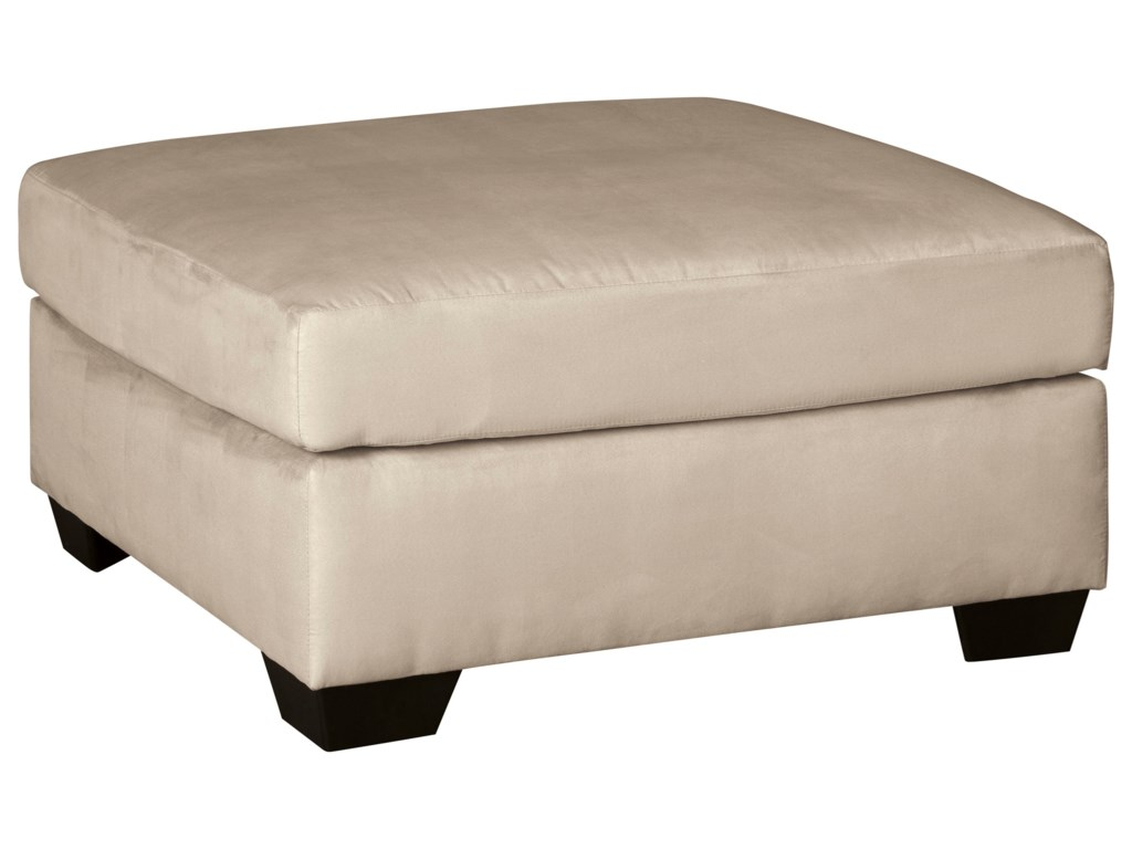 Signature Design by Ashley Darcy - StoneOversized Accent Ottoman