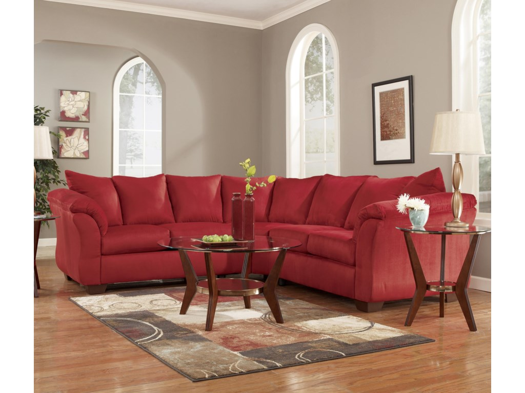 Signature Design by Ashley Darcy - SalsaSectional Sofa