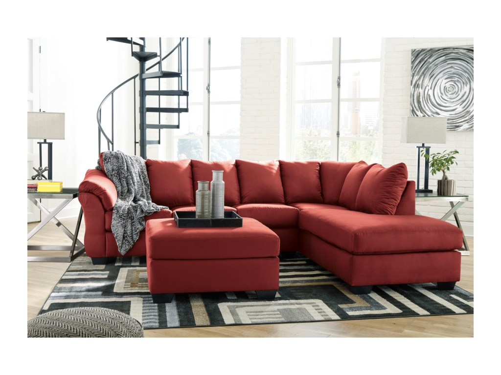 Signature Design by Ashley Darcy - Salsa2-Piece Sectional Sofa