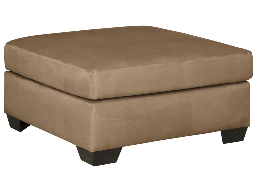 Signature Design by Ashley Darcy - MochaOversized Accent Ottoman