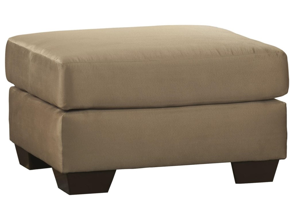 Signature Design by Ashley Darcy - MochaChaise Sofa, Loveseat and Ottoman Set