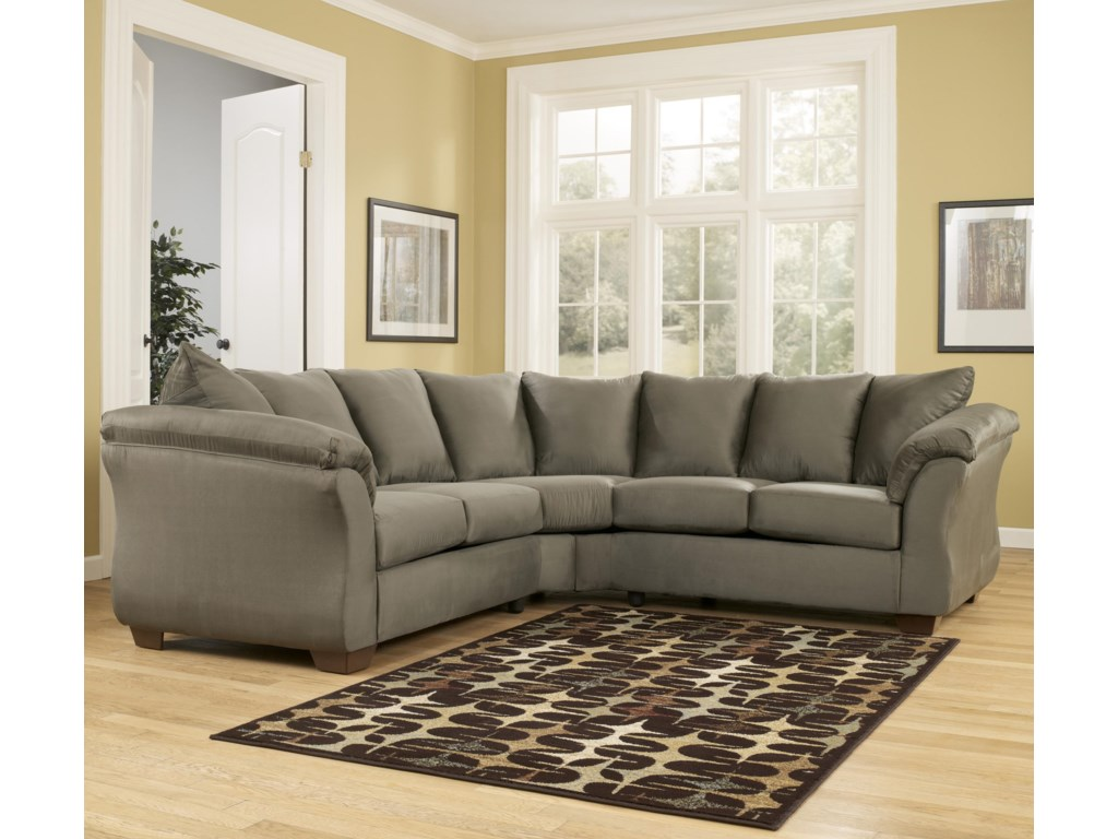 Ashley Signature Design Darcy Sagesectional Sofa