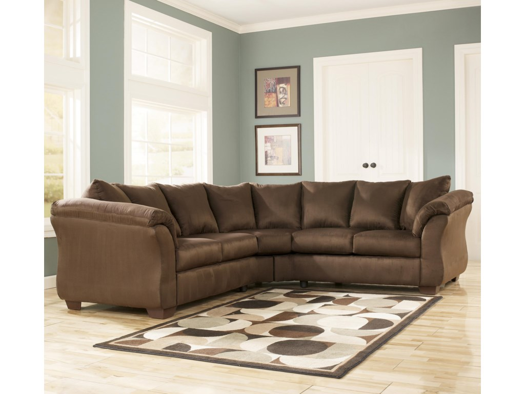 Ashley Signature Design Darcy Cafesectional Sofa