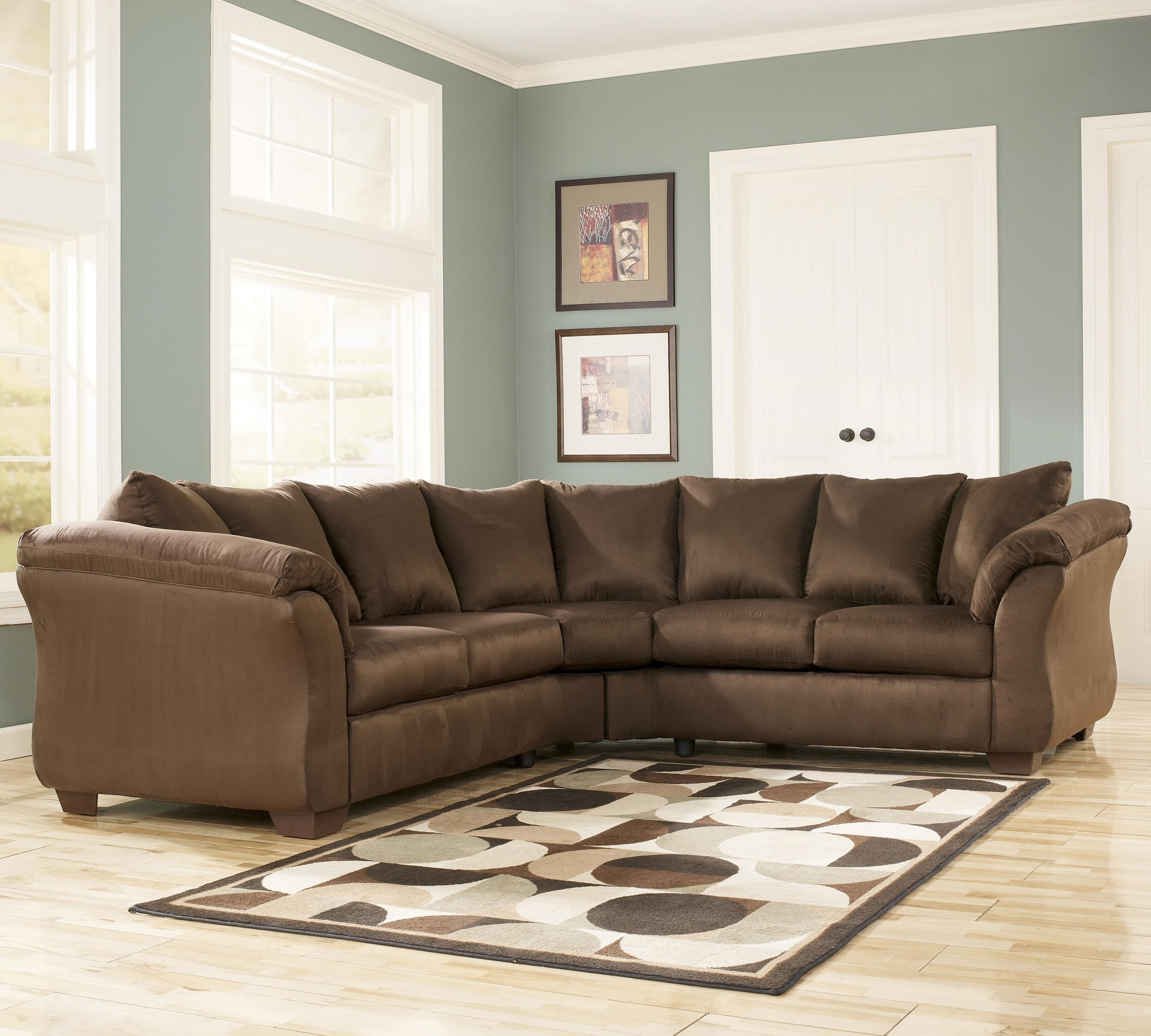 Ashley Signature Design Darcy   CafeSectional Sofa ...