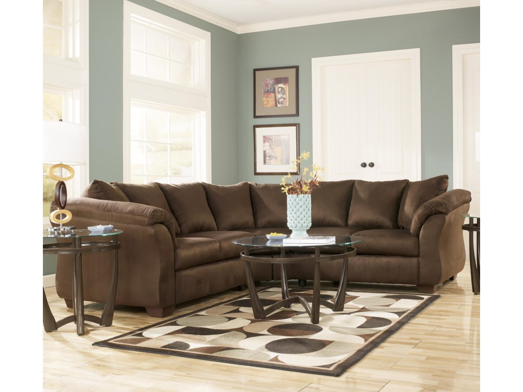 Signature Design by Ashley Darcy - CafeSectional Sofa