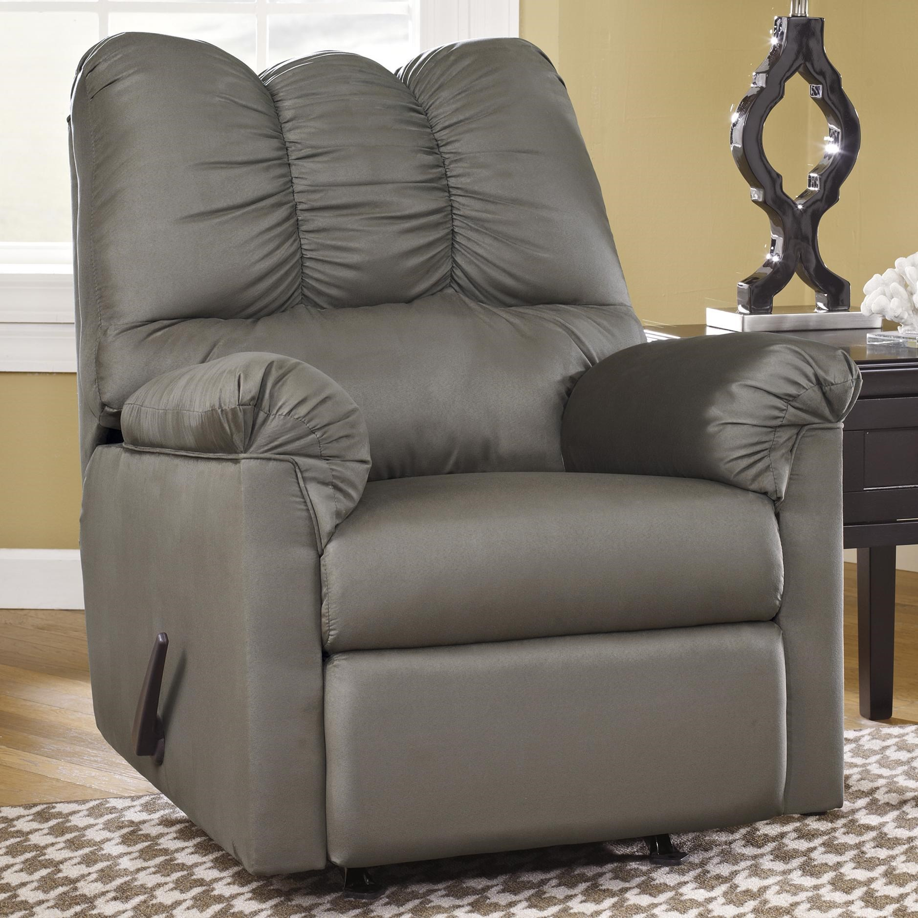 Signature Design by Ashley Darcy - Cobblestone Rocker Recliner - Becker Furniture World - Three Way Recliners  sc 1 st  Becker Furniture World & Signature Design by Ashley Darcy - Cobblestone Rocker Recliner ... islam-shia.org