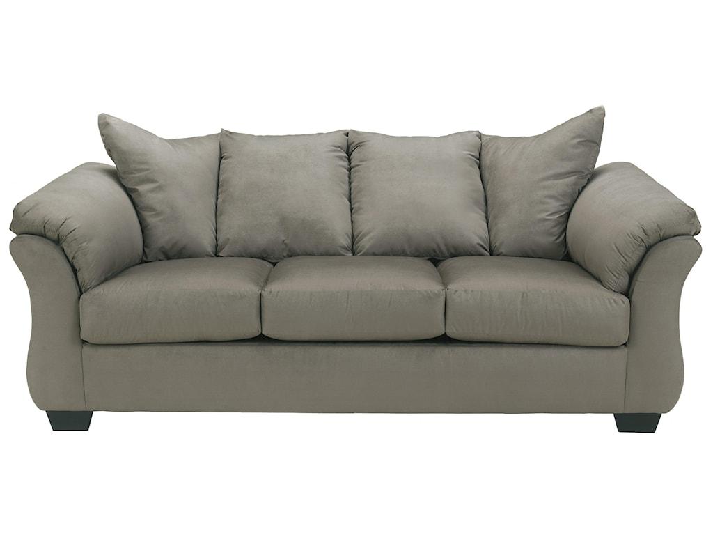 Signature Design by Ashley Darcy - CobblestoneStationary Sofa