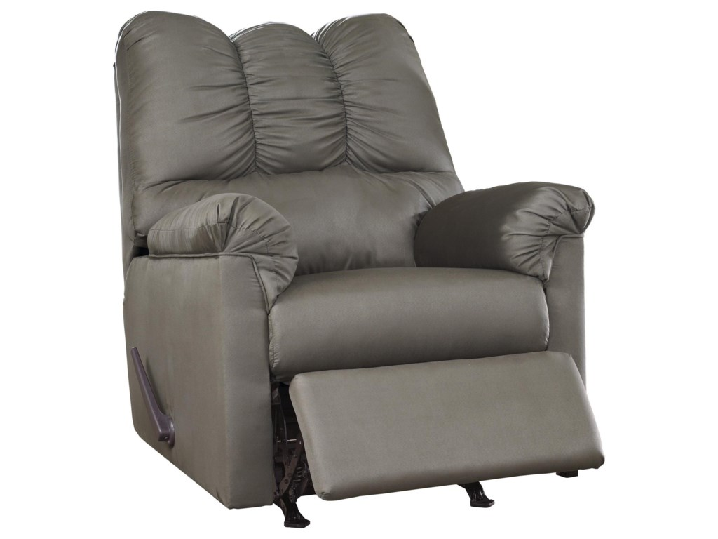 Signature Design by Ashley Darcy - Cobblestone2 PC Sectional and Recliner Set