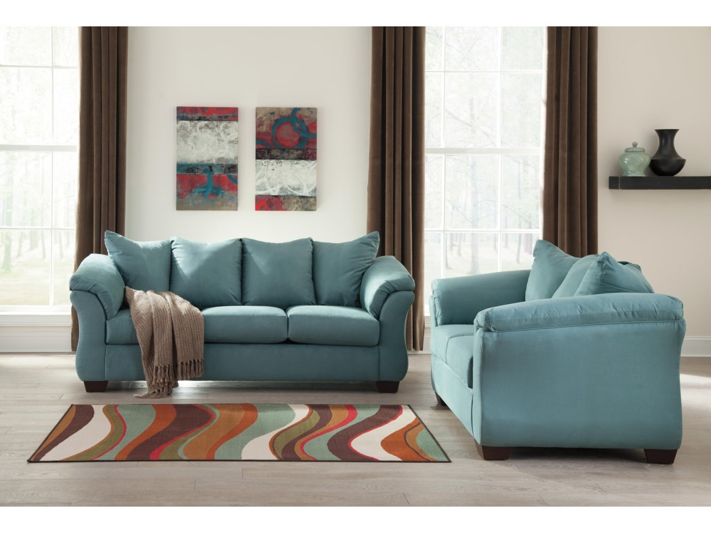 Signature Design by Ashley Darcy - SkyStationary Living Room Group