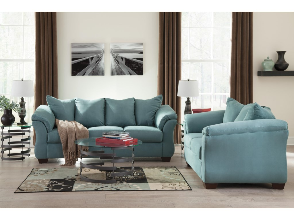 Signature Design by Ashley Darcy - SkyStationary Loveseat