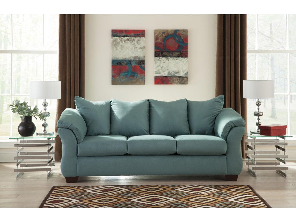 Ashley (Signature Design) Darcy - SkyStationary Sofa