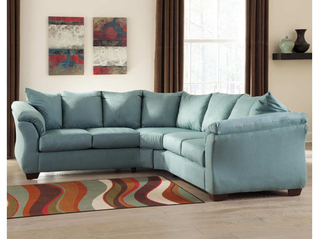 Signature Design By Ashley Darcy Skysectional Sofa