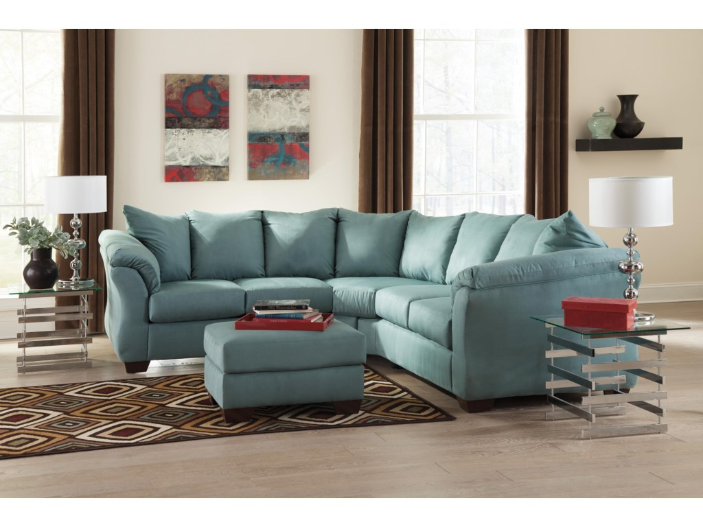 Signature Design by Ashley Darcy - SkySectional Sofa