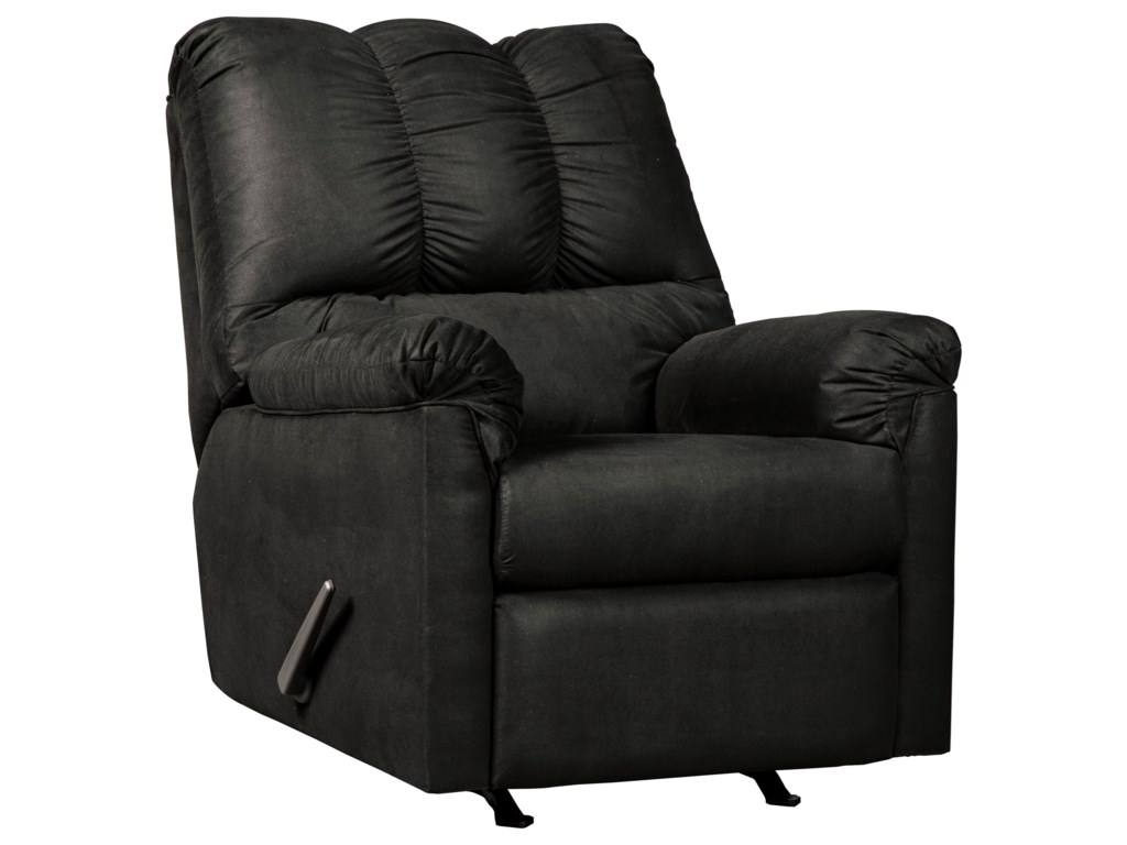 Ashley Signature Design Darcy - BlackRocker Recliner