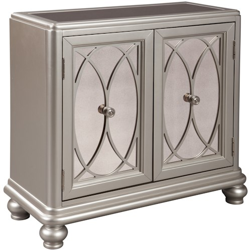 Signature Design by Ashley Darlyman Contemporary Accent Cabinet