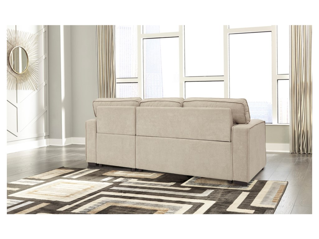 Signature Design by Ashley DartonSofa Chaise with Pop Up Bed & Storage Chaise
