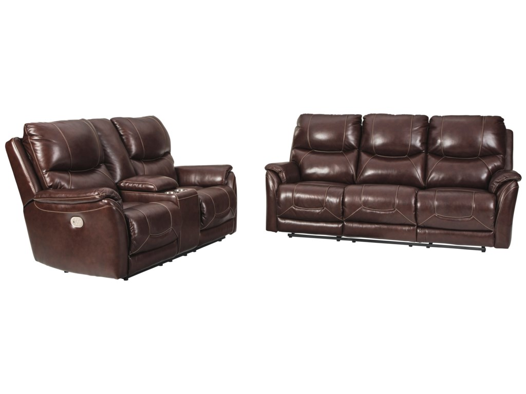 Signature Design by Ashley DellingtonPower Reclining Living Room Group