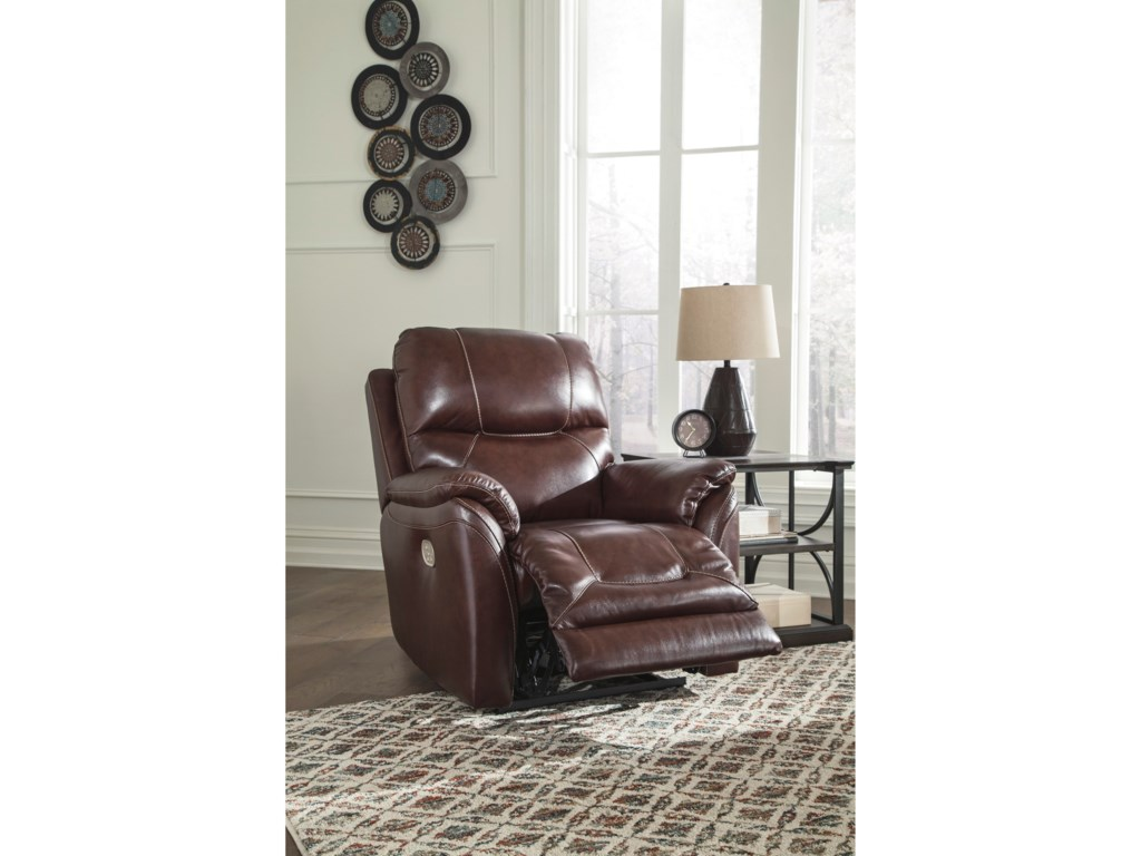 Signature Design by Ashley DellingtonPower Recliner with Adjustable Headrest