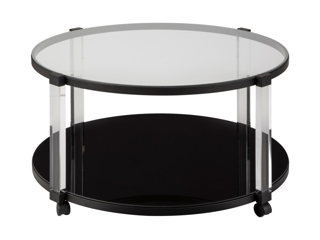 Signature Design by Ashley DelsinyRound Cocktail Table