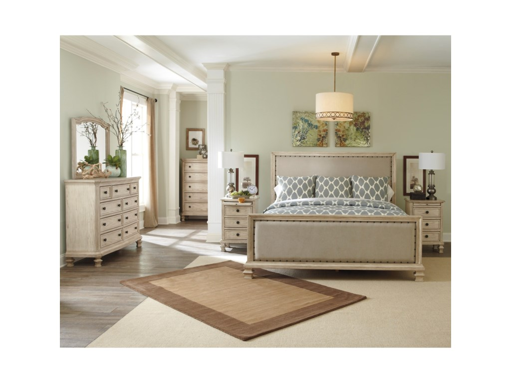 Signature Design by Ashley DemarlosQueen Upholstered Panel Bed