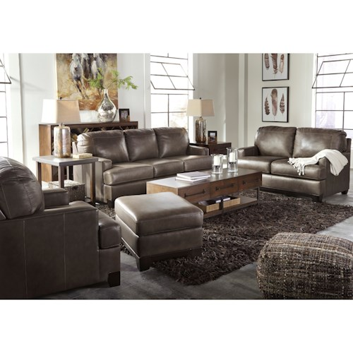 Signature Design by Ashley Derwood Stationary Living Room Group