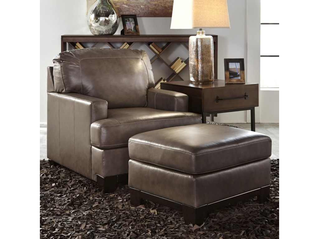 Signature Design by Ashley DerwoodUpholstered Chair & Ottoman