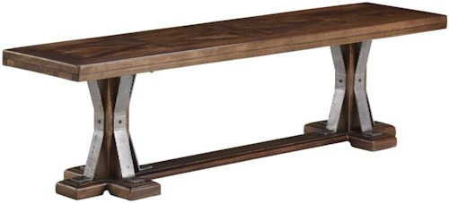 Signature Design by Ashley Devasheen Industrial Dining Room Bench