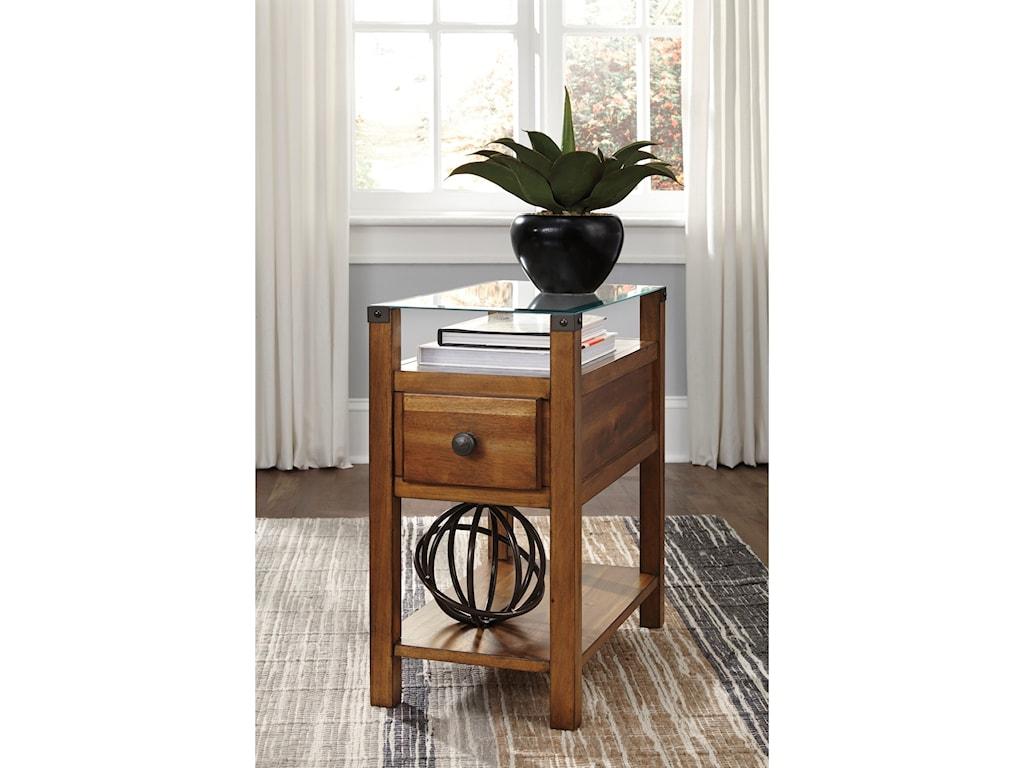 Ashley Signature Design DiamentonChair Side End Table