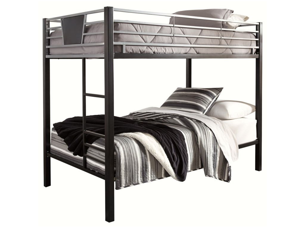 Signature Design by Ashley DinsmoreTwin/Twin Bunk Bed w/ Ladder