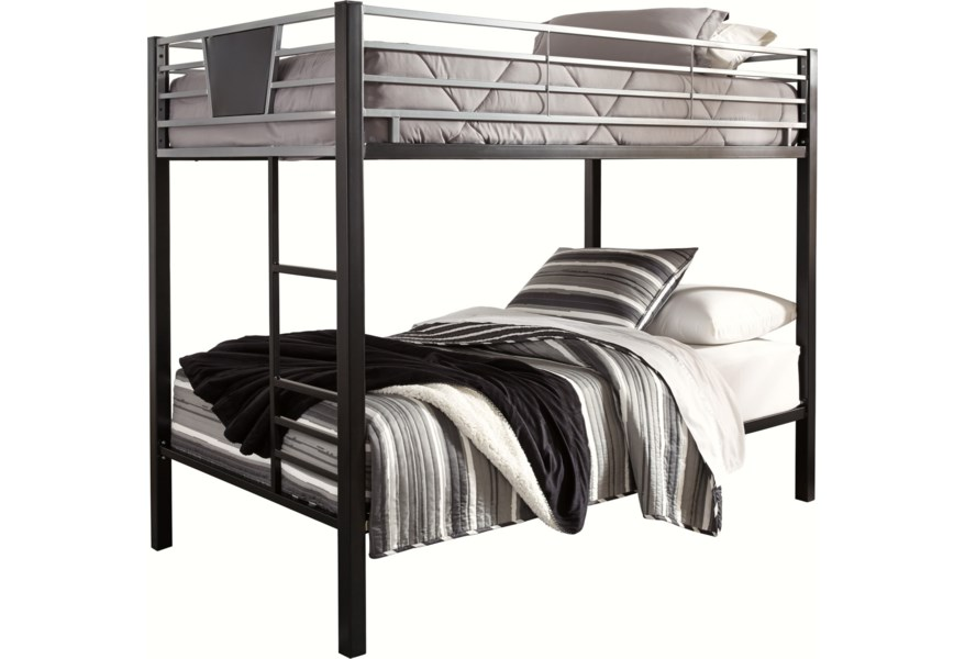 Signature Design by Ashley Dinsmore B106-59 Twin/Twin Metal Bunk ...