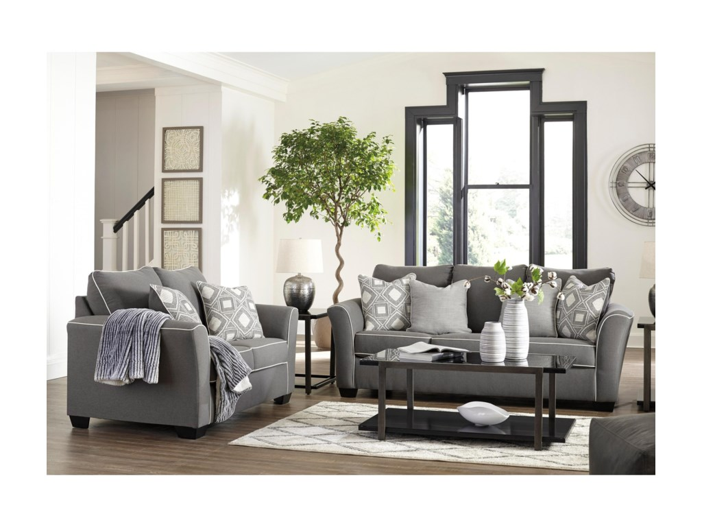 Rooms Collection Three DomaniStationary Living Room Group