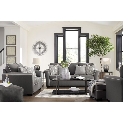 Signature Design by Ashley Domani Stationary Living Room Group