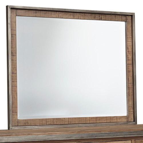 Signature Design by Ashley Dondie Bedroom Mirror with Metal Frame