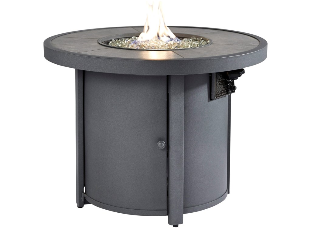 Signature Design by Ashley Donnalee BayOutdoor Fire Pit Table