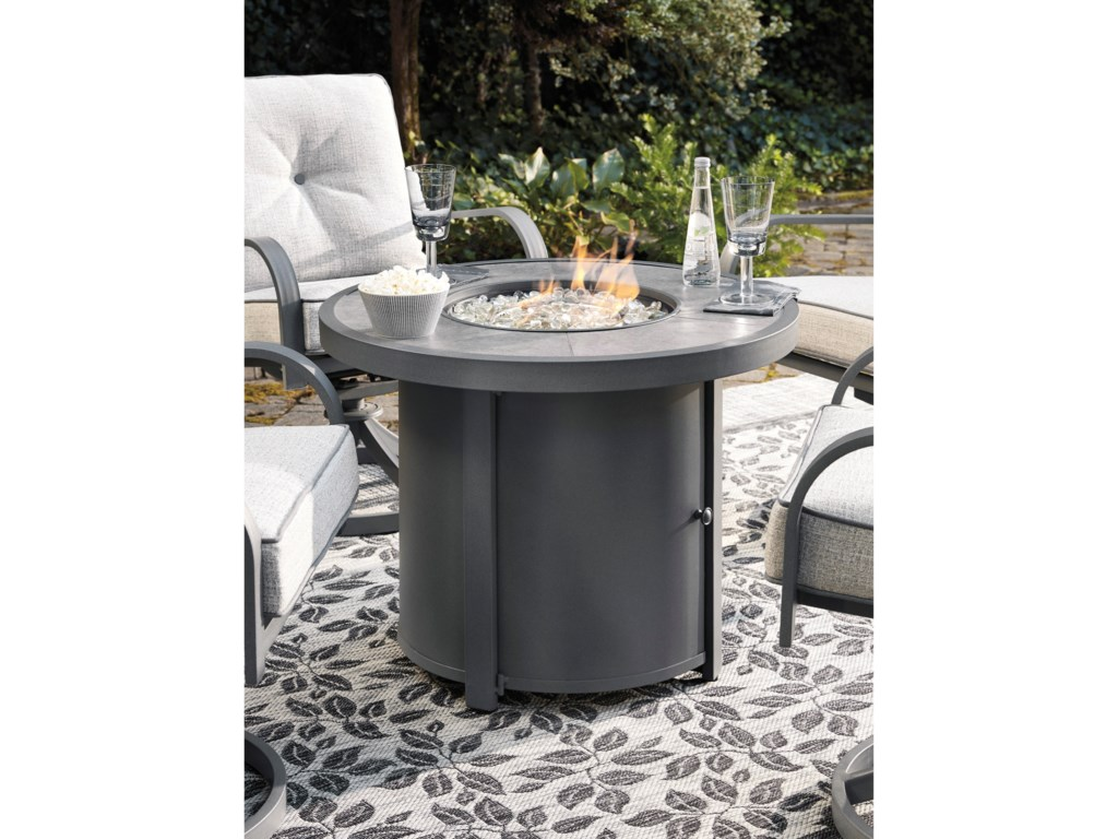 Signature Design by Ashley Donnalee BayRound Fire Pit Table