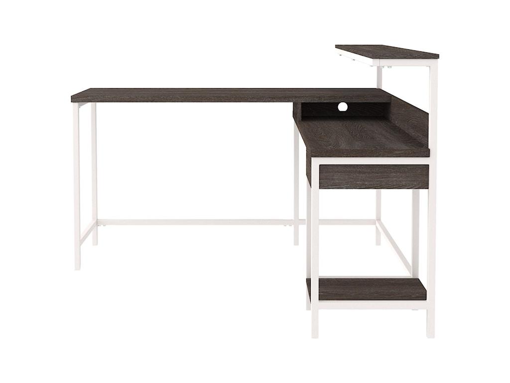 Signature Design by Ashley DorrinsonL-Desk with Storage
