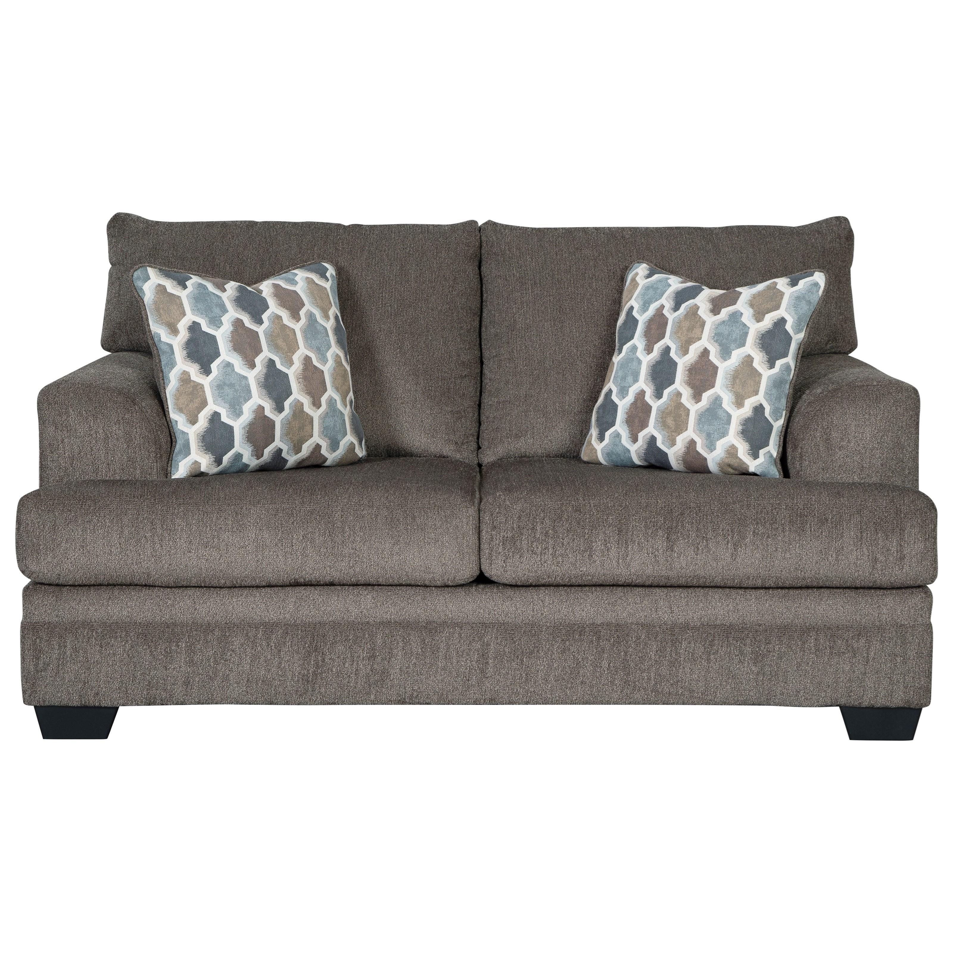 Signature Design By Ashley Dorsten Contemporary Loveseat Royal Furniture Loveseats