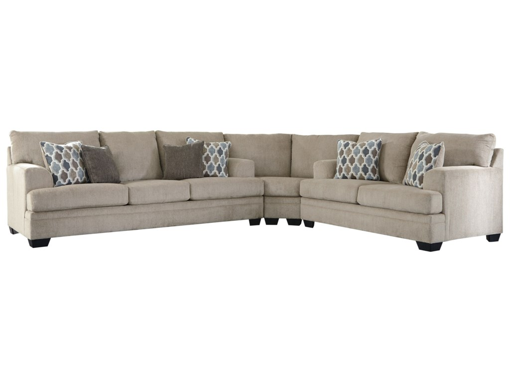 Signature Design by Ashley Dorsten3-Piece Sectional