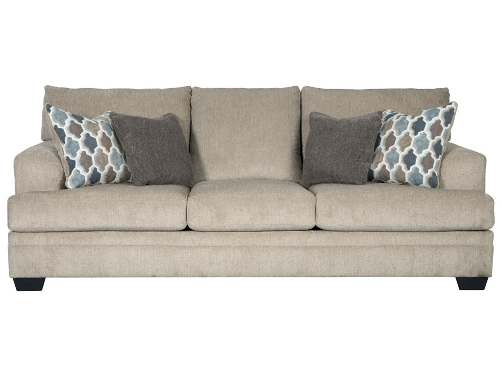Dorsten Contemporary Sofa by Signature Design by Ashley at Household  Furniture
