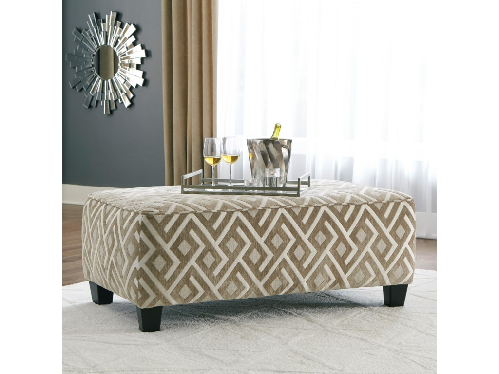 Signature Design by Ashley DovemontOversized Accent Ottoman