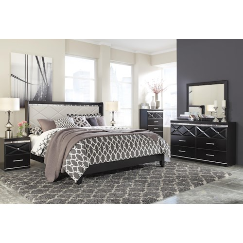 Signature Design by Ashley Fancee King Bedroom Group