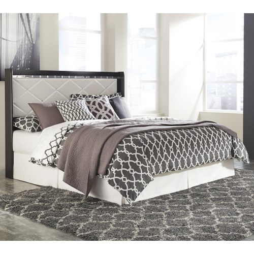 Signature Design by Ashley Fancee King/California King Panel Headboard with Faux Crystals