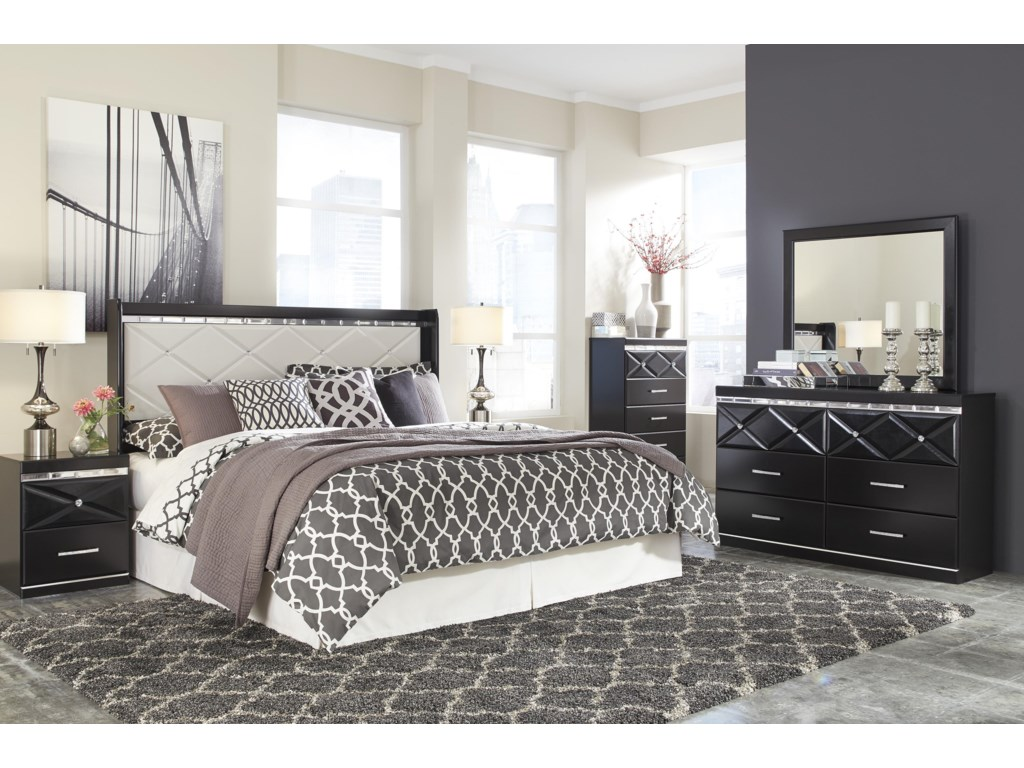 Signature Design by Ashley FanceeKing/California King Panel Headboard