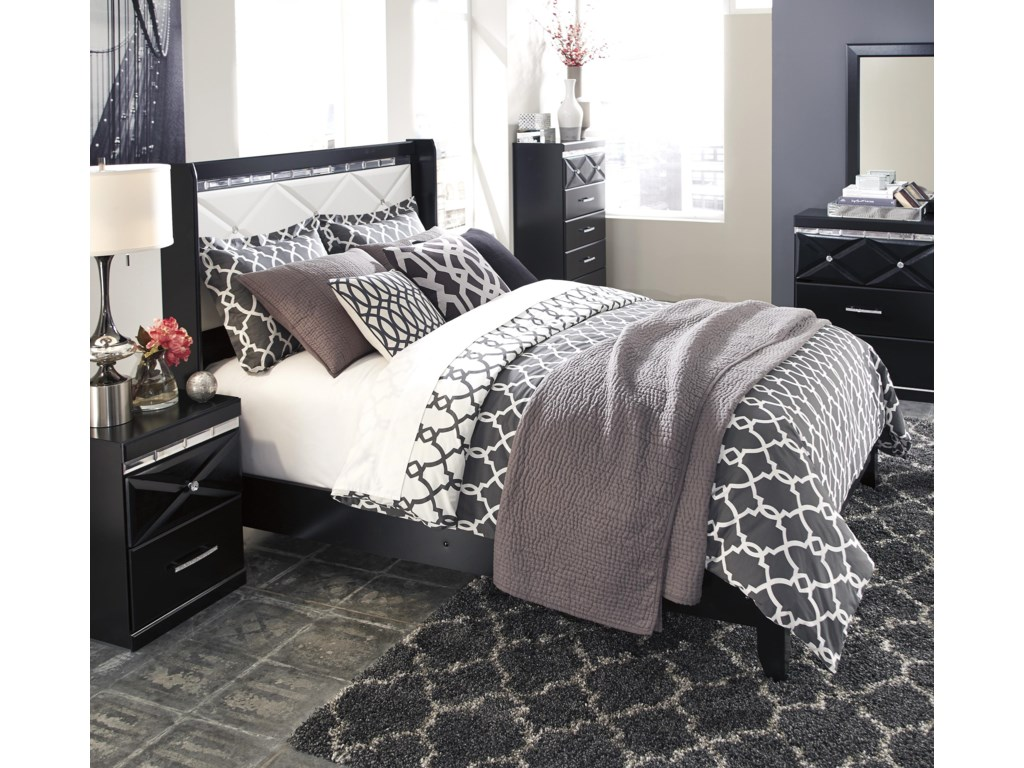 Signature Design by Ashley FanceeTwo Drawer Night Stand