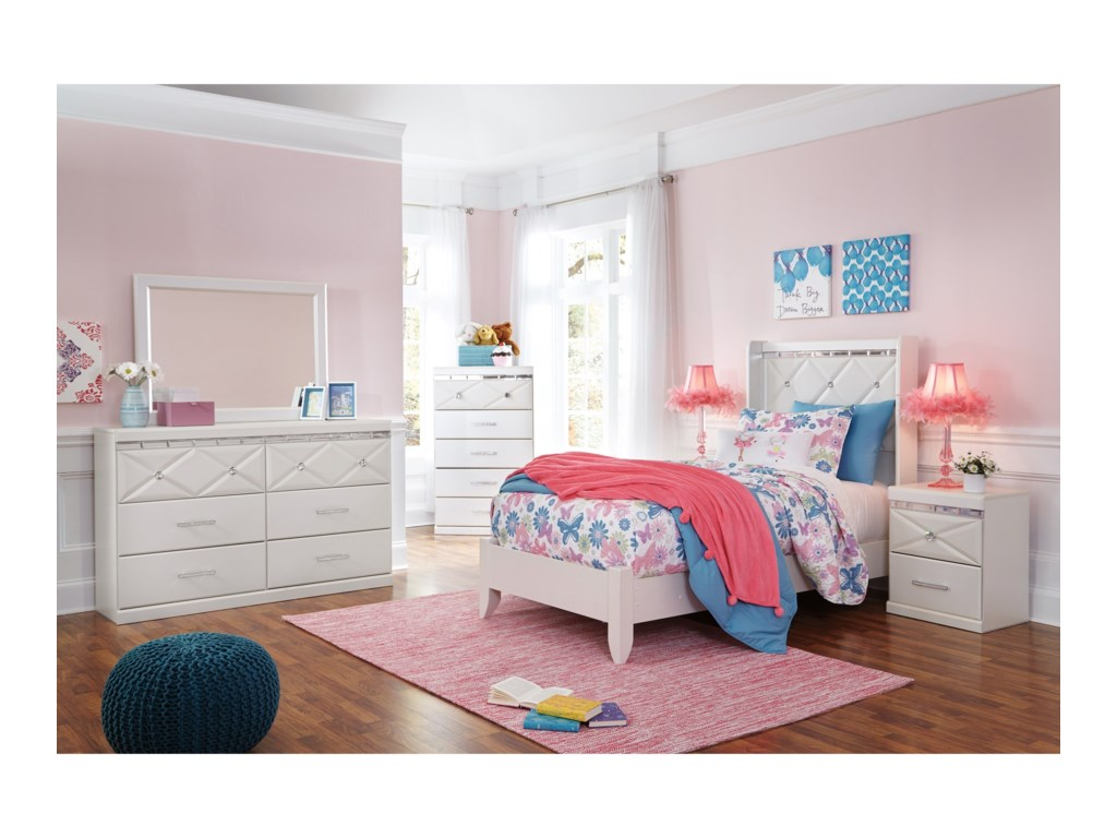 com dining bed signature bookcase contemporary zayley design full twin dp ashley headboard white furniture amazon kitchen