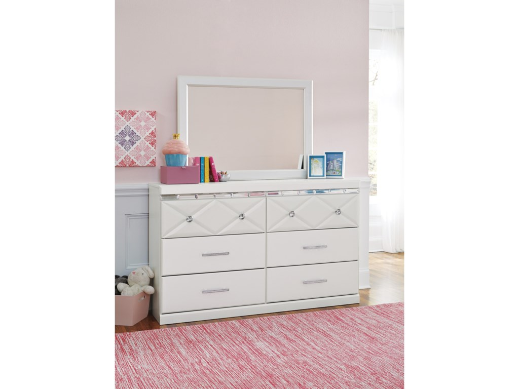 Ashley (Signature Design) DreamurDresser & Mirror