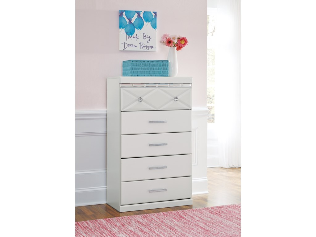 Signature Design by Ashley DreamurFive Drawer Chest