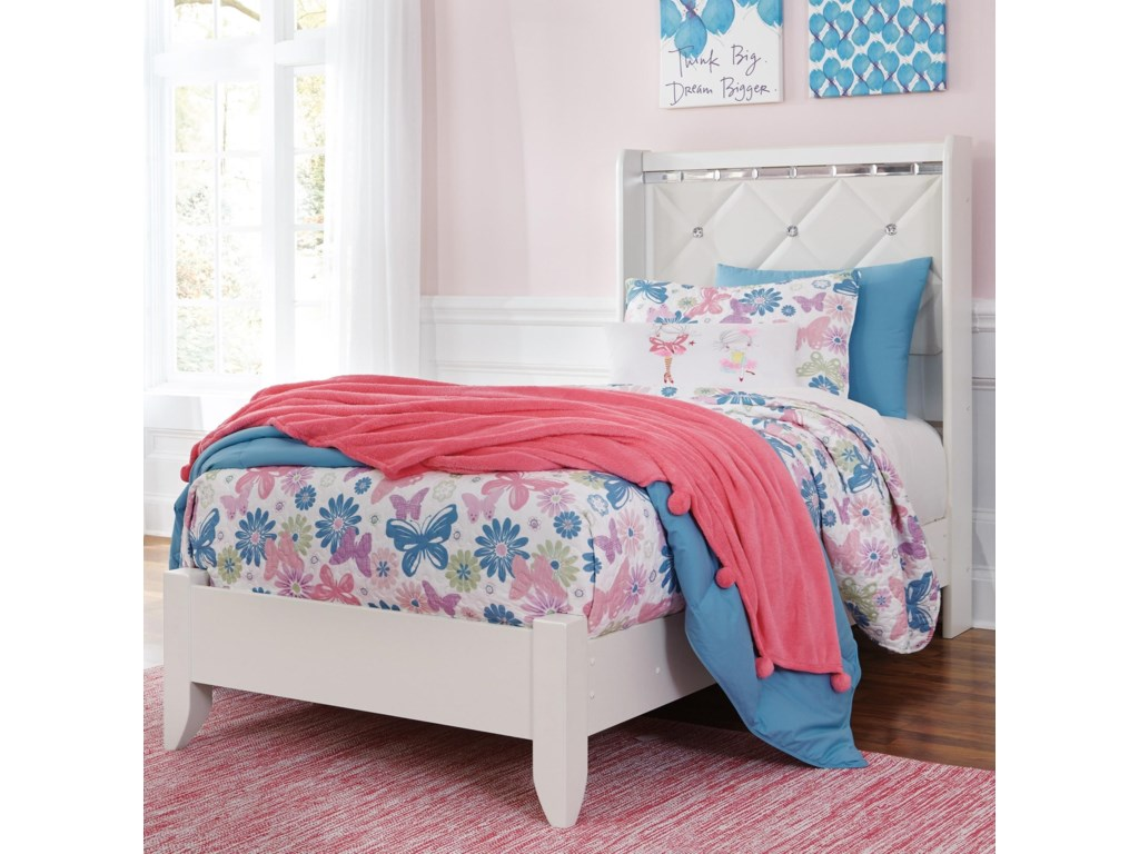 Signature Design by Ashley DreamurTwin Panel Bed